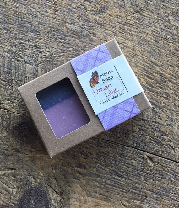 Urban Lilac Soap, handmade fragrant soap