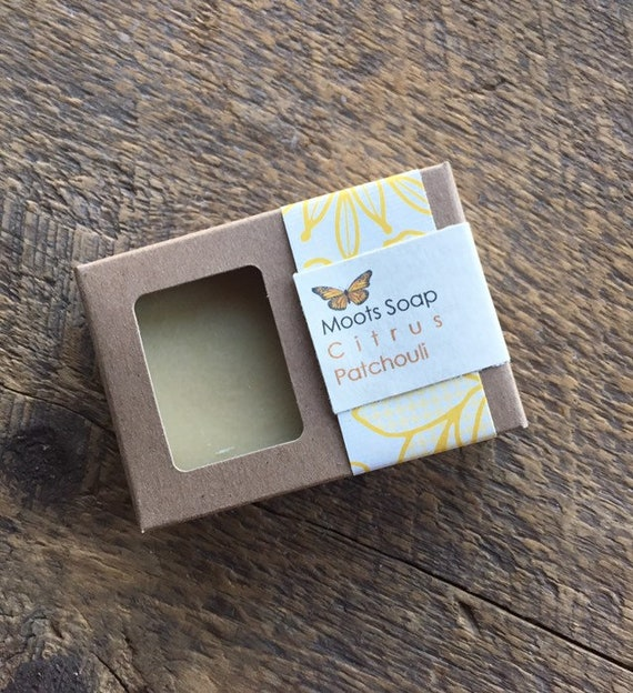Citrus Patchouli Soap, natural, handmade