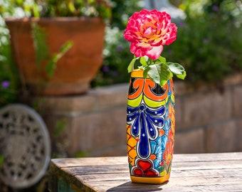 Pottery Flower Vase Etsy