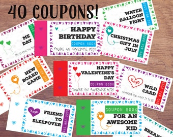 Coupon Book For Dad Love Coupons Father S Day Gift From Etsy