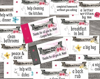 stocking stuffer coupon book for dad love coupons etsy