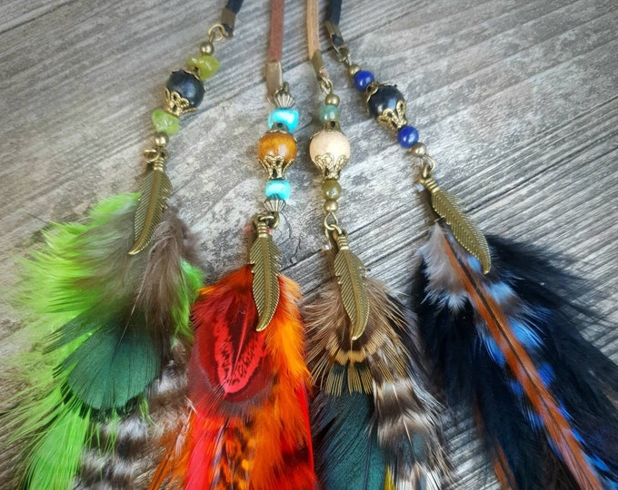 Featured listing image: Clip à cheveux en plumes ÖZHARK