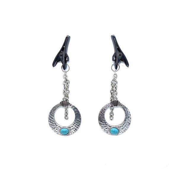 Hch Horizontal Clit Hood Piercing Jewelry Charm Base Adaptor Under