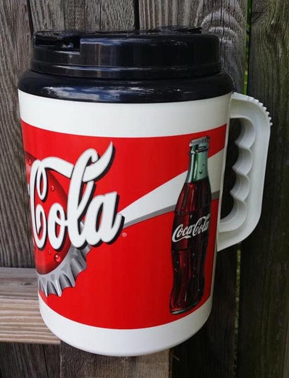 Vintage 64oz Coca Cola Thermos Mug By Betras Usa Insulated Etsy