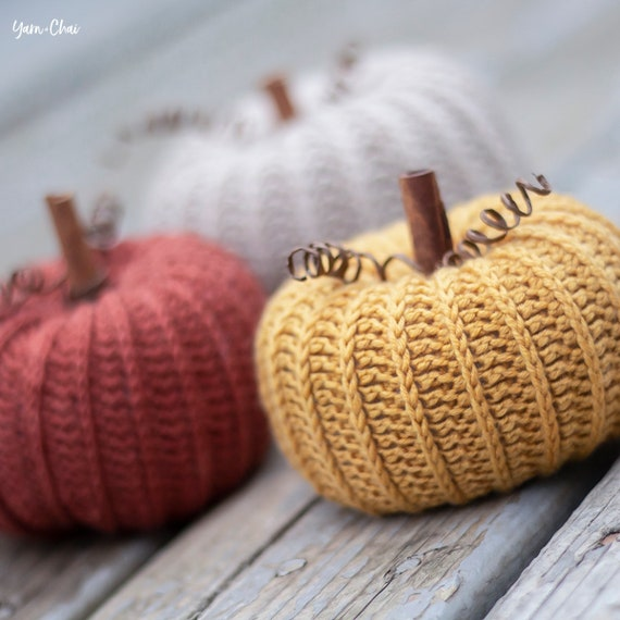 Pattern: Little Rustic Pumpkin Crochet Pattern PDF Rustic