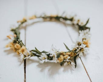 The Vintage Daisy Crown