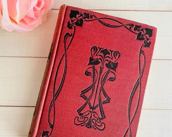 Knickerbocker's A History of New York - Antique Book - Washington Irving - Art Nouveau - Book Decor