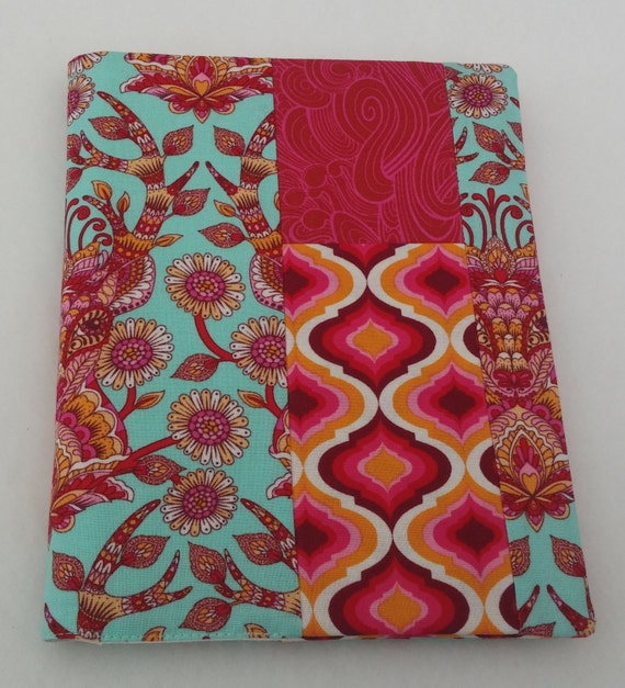 Visual Art Book Cover : Fabric journal cover diary visual art book a size