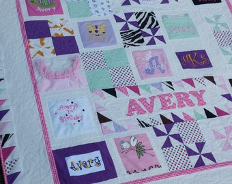 Unique Baby Quilt Etsy