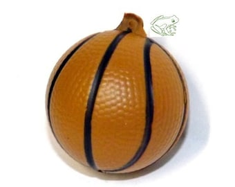 4.3 cm Hoops Charm Dunk Pendant Squishy Basketball Pendant Sold Individually Basket Baller Great for Sport Nuts 3D Pendant