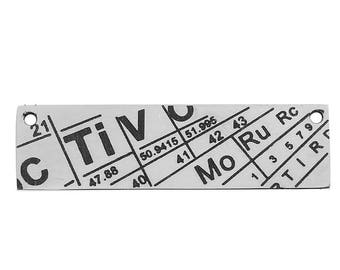Periodic table charm etsy stainless steel periodic table 36 cm sold individually science pendant science bookmark bookmark charmperiodic table connectorsta012 urtaz Image collections