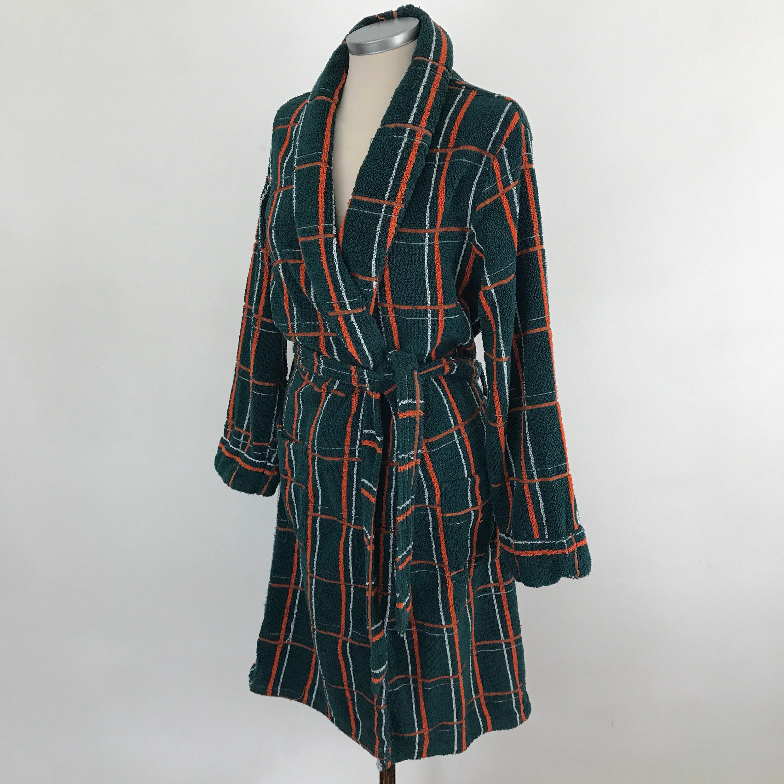 Vintage Robe Terry Towelling Vintage Menswear Small