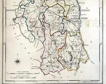 County Armagh Ireland Map.Armagh Ireland Map Etsy