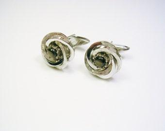 WEDDING Cufflinks Swank Forever Knot Cuff Links Eternity Groom Gift