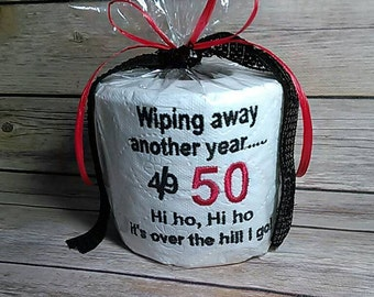 Unique over the hill gift, Over 50 customized gift.