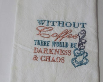 without coffee darkness