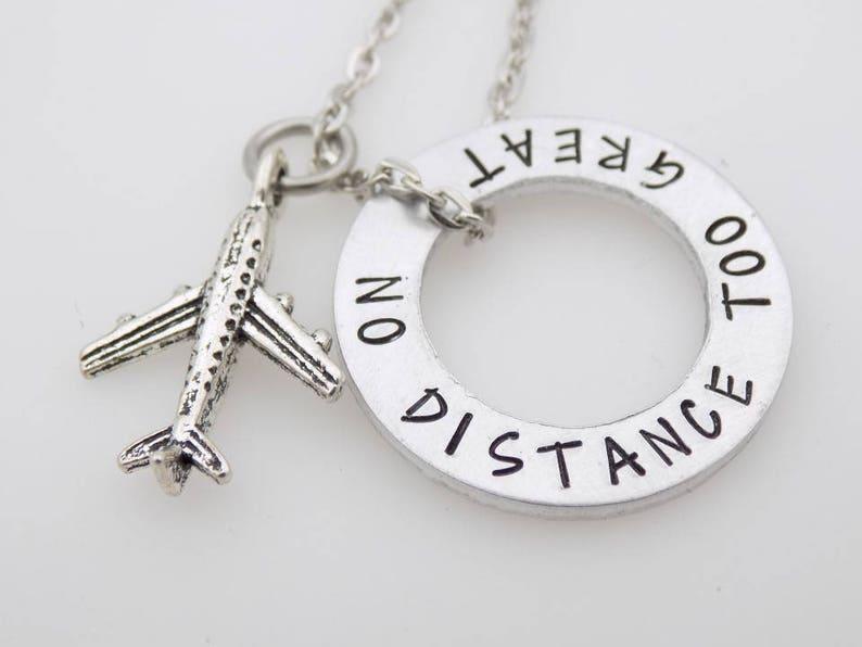 Long Distance Relationship Necklace ldrship LDR Long ...