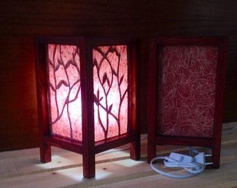 Lámpara artesanal. Brote de Luz (ref.01).
