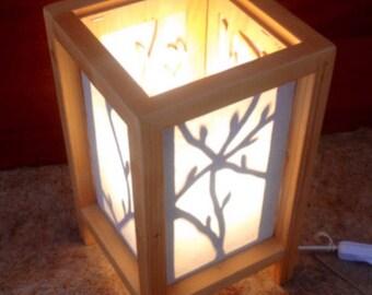 Lámpara handmade. Brotes de luz (ref.01)