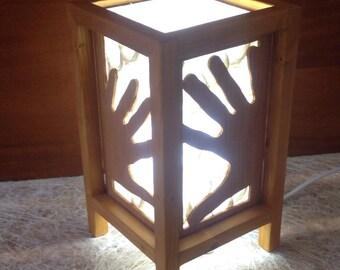 Lámpara hecha a mano. Brotes de luz (ref.01)
