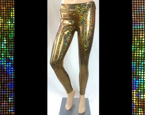 Gold Glitterati Leggings