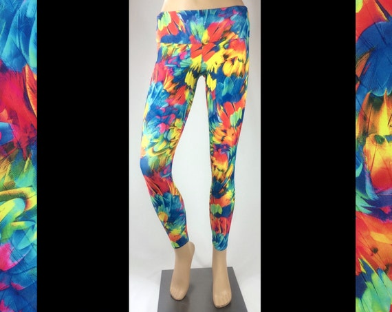 Parrot Party Leggings