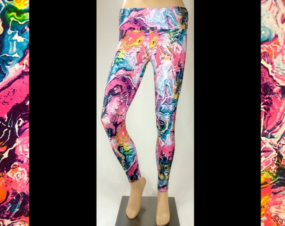 Paint Spill Leggings