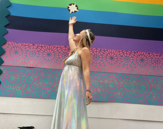 Magic Opal Rainbow Dress