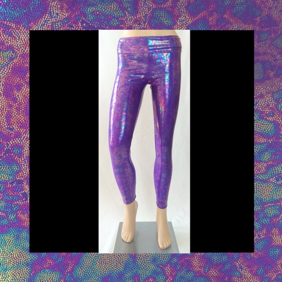 Purple Magical Mermaid Leggings
