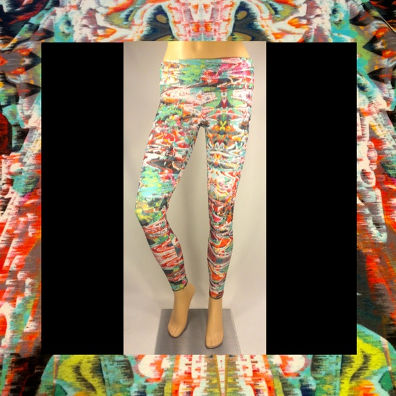 Burning Man Mirage Leggings