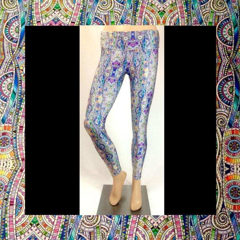 Zentangle Leggings