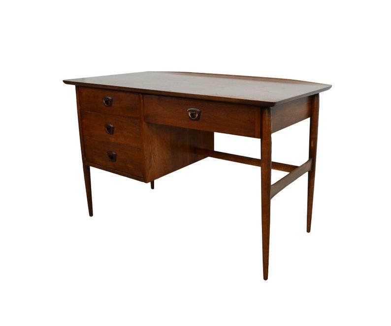 Walnut Desk Bassett Furniture Mid Century Modern