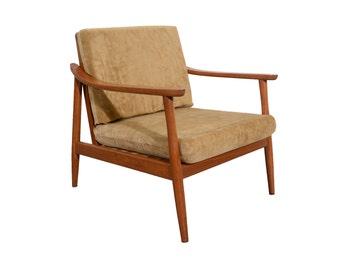 Danish Modern Lounge Chair Mid century Modern