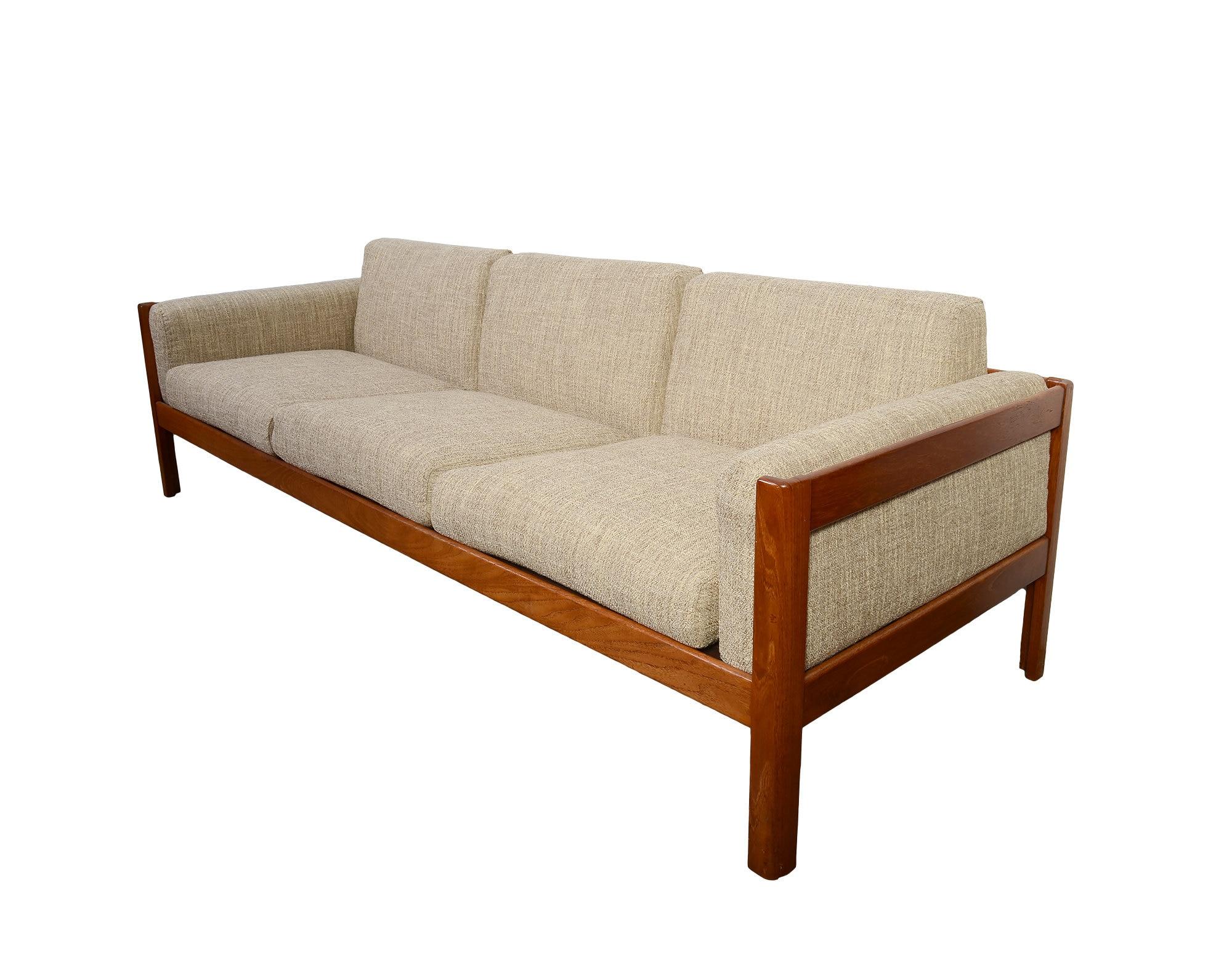 Teak Sofa Danish Modern Mid Century Modern