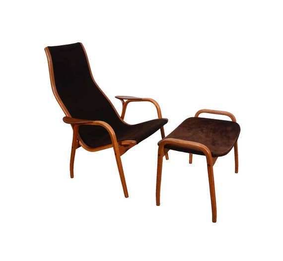 Lamino Chair And Ottoman By Swedese By Yngve Ekstrom Danish