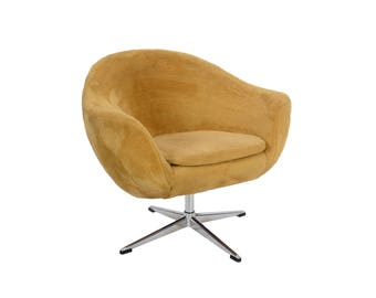 Overman AB Pod Chair Sweden Danish Modern MCM