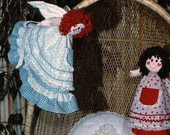 Angel Doll Pattern, Tooth Fairy Doll Sewing Pattern, Lollipop Tree Design 1070, © 1981 Vintage Uncut