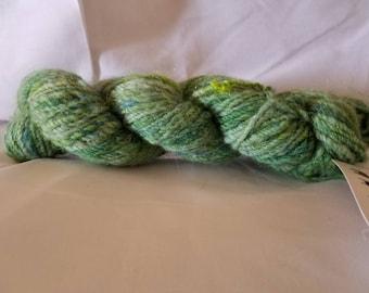 Hand dyed hand spun wool