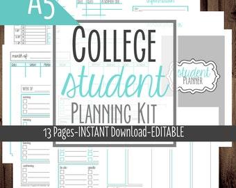 student planner etsy