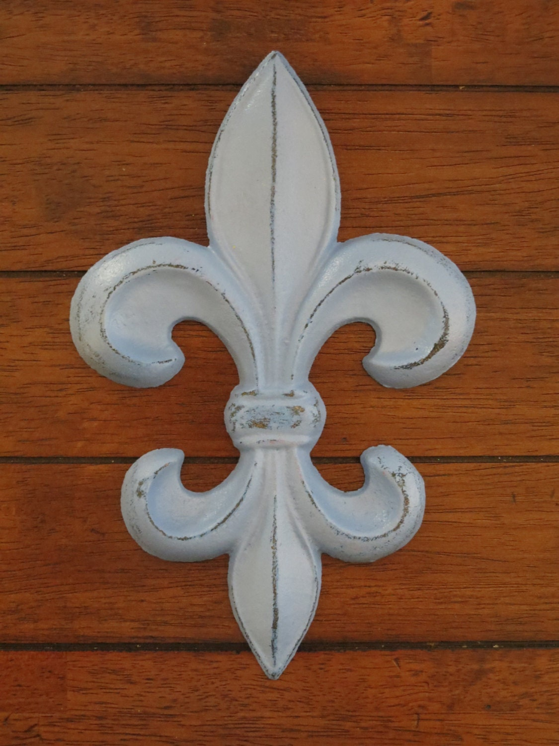 Fleur De Lis Wall Decor Spa Blue Or Pick Your Color Cast