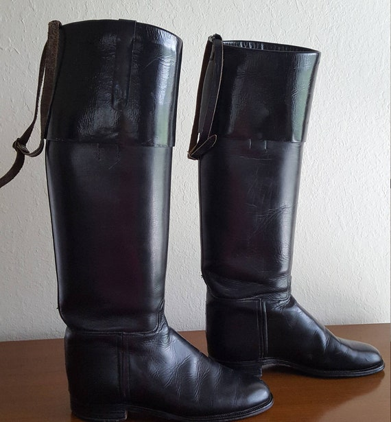 BootsLeather RIDING BOOTS Vintage