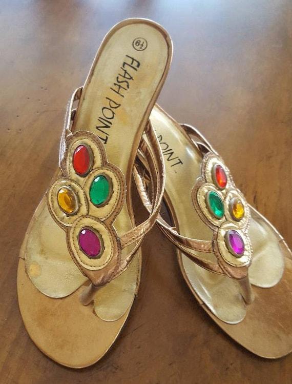 Womens Jeweled ShoesBo-Ho Multi-Color