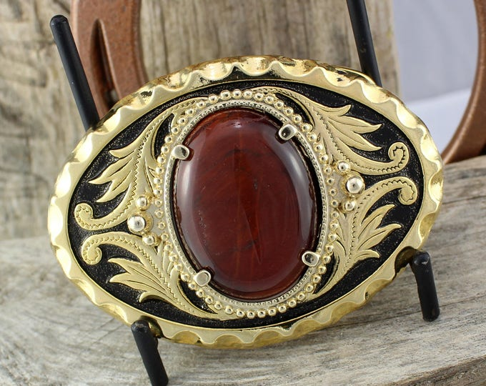 Belt Buckle - Western Belt Buckle - Tiger Eye Buckle - Cowboy Belt Buckle - Boho Belt Buckle - Western Buckle - Cowgirl Belt Buckle