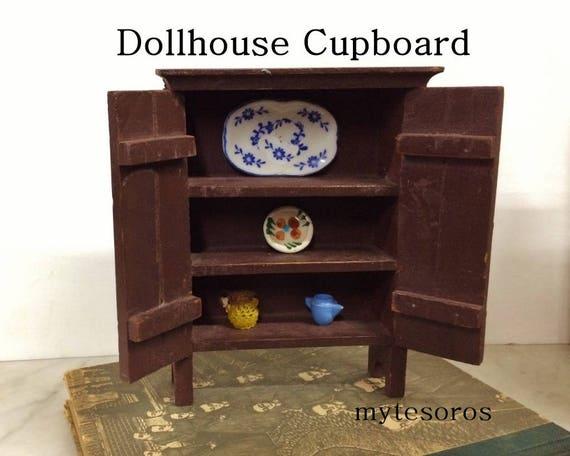 8 Miniature Vintage Native American Indian Children  Prints Dollhouse  1:12