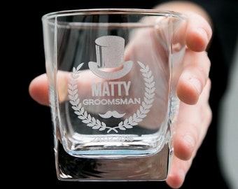 1-10 Groomsman Premium European Scotch Glasses