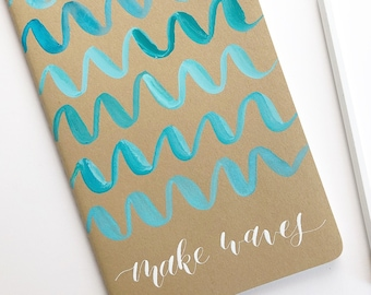 Make Waves journal