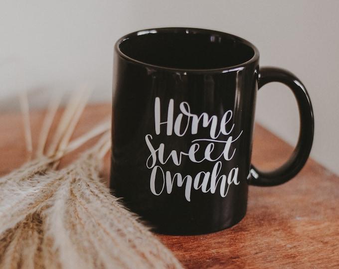Featured listing image: Home Sweet Omaha mug