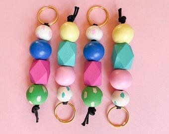 Spring Fever keychains   2 color ways