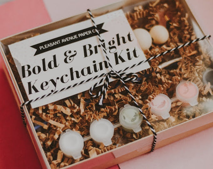 Featured listing image: Bright & Bold Keychain Kit