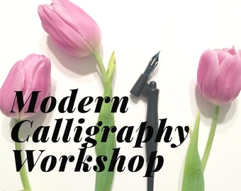 Modern Calligraphy Workshop: Holiday Edition | 10 AM to 1 PM | December 7 | Omaha